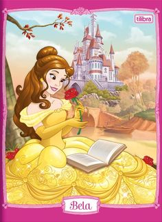Belle the Disney Princess who loves to read books Disney Princess Belle, Princesa Disney Bella, Disney Princesses And Princes, Disney Princess Pictures, Disney Pictures, Disney Fan Art, Disney Art Books, Disney Wiki, Disney Love