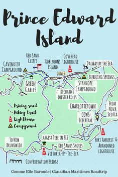What to do for 3 days and 2 nights on Central Coastal Prince Edward Island, Canada East Coast Travel, East Coast Road Trip, Lac Huron, East Coast Canada, Pvt Canada, Voyage Canada, Canadian Travel, Canadian Rockies, Atlantic Canada
