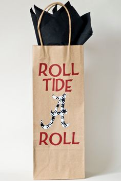 Love it !!! Game Day Hostess Gift idea for that bottle of.....?