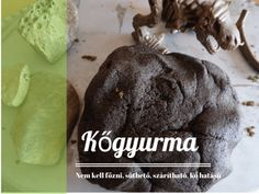 Kőgyurma Salt Dough, Toddler Crafts, Best Games, Baby Kids, Diy And Crafts, Clay, Homemade, Fimo, Creative