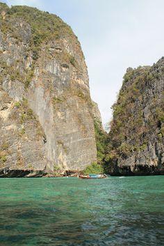 una delle spiagge di Phi Phi Leh Isola di The Beach film con Leonardo Dicaprio
