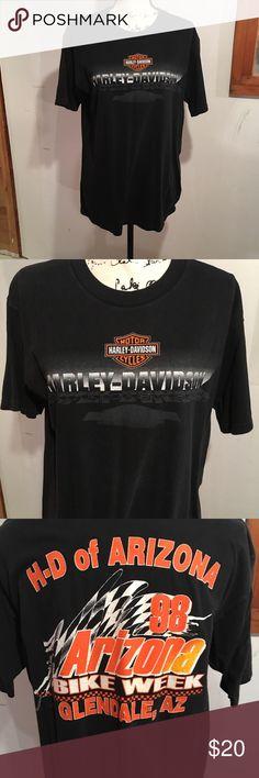 Harley Davidson men's T'Shirt HD of Arizona bike week 1998 Harley-Davidson Shirts Tees - Short Sleeve