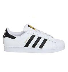 Adidas Superstar 1 White Black Foundation - Unisex Sports