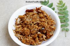 Raw Jackfruit Sukka/Dry Masala Recipe (Kadge Chakko) Jackfruit Recipe Indian, Raw Jackfruit, Jackfruit Recipes, Goan Recipes, Raw Food Recipes, Indian Food Recipes, Vegetarian Lunch, Vegetarian Recipes, Konkani Recipes