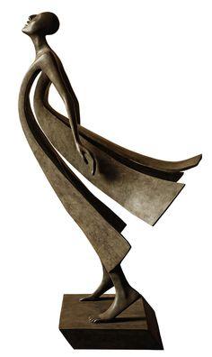 "© Casart - Isabel Miramontes, Promise  Bronze - 27 x 14 x 12"""