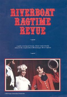 Flyer for Riverboat Ragtime Revue Tour 1982-83