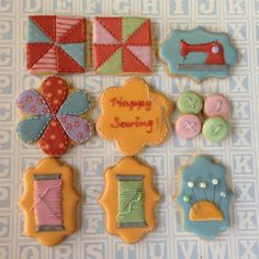 Sewing cookie set   Cookie Connection