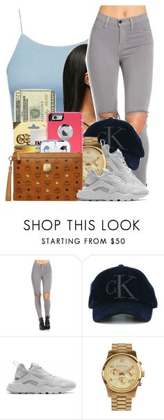 """115"" by jalay ❤ liked on Polyvore featuring Calvin Klein Jeans, NIKE and MICHAEL Michael Kors"