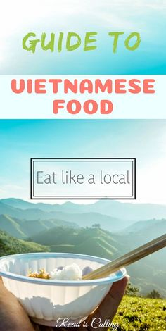 The list of main dishes, snacks, desserts and drinks from Vietnam. Even if you don't travel to Vietnam but would love to try Vietnamese food, this guide will help you understand what to order at the restaurant in your home country and eat like a local China Travel, Japan Travel, Vietnamese Recipes, Vietnamese Food, Travel Guides, Travel Tips, Travel Goals, Vietnamese Restaurant, Restaurant Food
