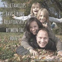 Healthy families work to have a strong relationship between the adult caregivers. I am well aware that families come in all shapes and … Strong Relationship, Relationships, Family Traditions, Caregiver, Wise Words, Families, Parenting, Free Stuff, Couple Photos