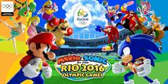 Go for gold in Mario & Sonic at the Rio 2016 Olympic Games™ coming to Nintendo family systems on April