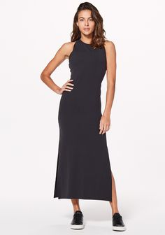 Versatile, slim-fitting maxi dress for any occasion. | lululemon