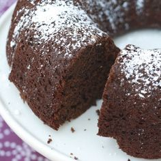 Skinny Points Recipes  » Chocolate Buttermilk Bundt Cake