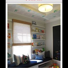Birds on ceiling, daydream wallpaper by Hygge and West