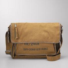 field e/w messenger bag fossil