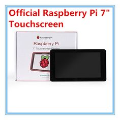 Official Original Raspberry Pi 7 inch LCD Touch Screen Display For Raspberry Pi 2B / Raspberry Pi 3 Model B Board Free Shipping