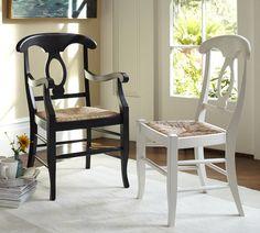 Napoleon® Rush Seat Chair | Pottery Barn