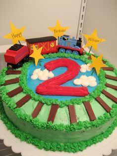 thomas birthday cake homemade - Yahoo Image Search Results