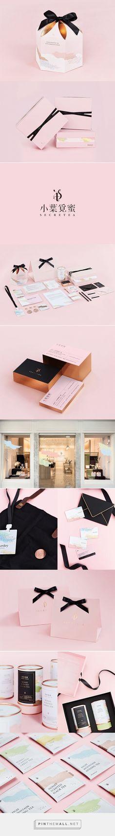 Secretea on Packaging of the World. Tea packaging and branding design