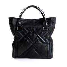 Geo Tote - Textured Black by Bracher Emden