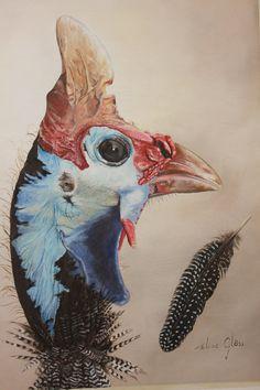 guinea fowl | Gloss Paintings