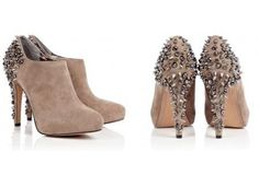 SAM EDELMAN-Studded Suede Ankle Boot   LUUUX