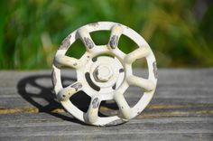 Cabinet knob/drawer pull/dresser handle/door knob/white/cream/distressed/metal/valve/steampunk/unique/decorative/modern industrial/bathrom
