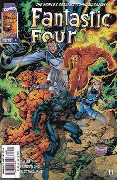 Fantastic Four # 4 Marvel Comics Vol 2