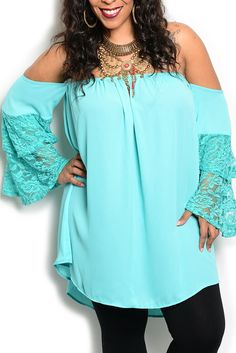 DHStyles Women's Mint Plus Size Girly Boho Chic Off Shoulder Chiffon Lace Top - 3X Plus #sexytops #clubclothes #sexydresses #fashionablesexydress #sexyshirts #sexyclothes #cocktaildresses #clubwear #cheapsexydresses #clubdresses #cheaptops #partytops #partydress #haltertops #cocktaildresses #partydresses #minidress #nightclubclothes #hotfashion #juniorsclothing #cocktaildress #glamclothing #sexytop #womensclothes #clubbingclothes #juniorsclothes #juniorclothes #trendyclothing #minidresses…
