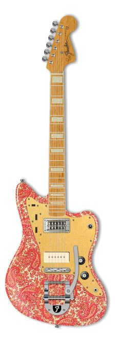 Fender Custom Paisley Whatever :)