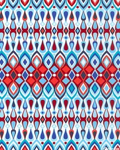 'Solstice' in Sky Blue from the 'Beechwood Park' collection by Jenean Morrison for Free Spirit