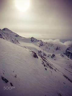 Robert Emmerich - 24 Sepia Fog at the top of the stubaital glacier - Austria…