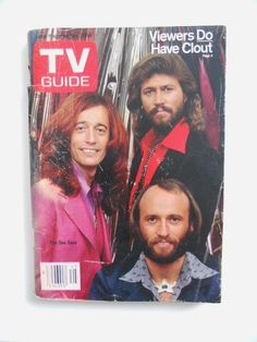 The Bee Gee's on T V Guide 1970's