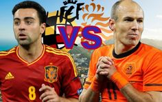PES-2015 Holland vs Spain