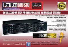 Ecualizador SKP -Audiotienda VMV