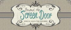 Beyond the Screen Door | Sonya Hamilton Designs specializes in fabrics creating custom pillows, window treatments, curtains and more!