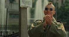 'Now I see this clearly. My whole life is pointed in one direction. There never has been a choice for me.'  Taxi Driver (1976)