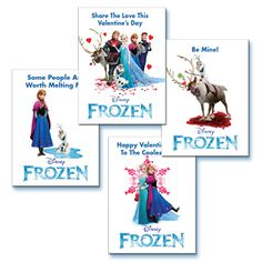 Thaw frozen hearts with these Frozen themed Valentines. They are almost as good as a warm hug: http://www.disneymovierewards.go.com/rewards/Frozen_Valentine_Card_6606?cmp=DMR|PIN|Reward|FrozenValentines