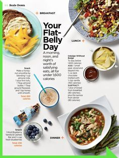 Your flat belly day                                                                                                                                                                                 More