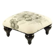 I pinned this Floral Footstool from the Signature Pillows event at Joss and Main!