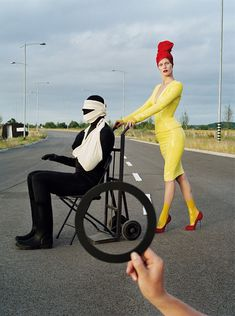 Tim Walker's Street Sign Illusions (12 pics) - My Modern Met