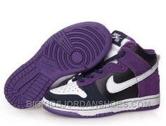 lowest price dfaf3 86725 New Kids Nike Dunks High SB Un Heavens Gate Purple Black