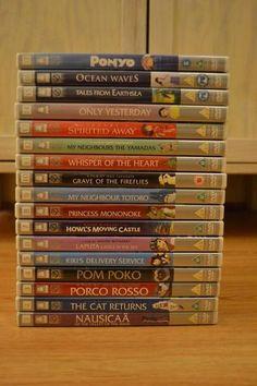 Studio Ghibli Collection 17 Movie Miyazaki