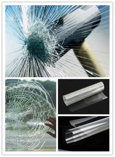 Safety Window Glass Film Clear Security Shatter Proof Anti Scratch for sale online