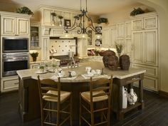Tuscan Estate at Ravenna - Thomas Sattler Homes House Of Beauty, Ravenna, Custom Cabinetry, Traditional Kitchen, Other Rooms, Bath, Interior, Home Decor, Custom Closets