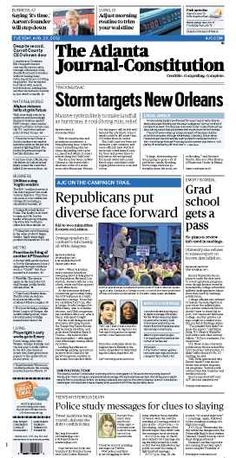 The Atlanta Journal-Constitution: August 28, 2012.
