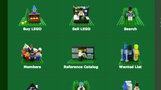 LEGO isn't just a great toy for kids of all ages--those bricks have lots of other productive uses. If you're looking for just a few pieces or a complete set, BrickLink's the place to buy or sell LEGO parts.