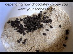 Wholemeal Choc Chip Scones