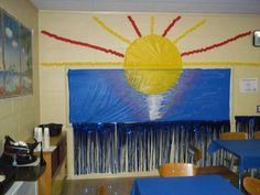 VBS Craft room decorations