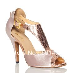Sexy style adult women salsa dance ballroom shoes ladies latin shoes free shipping US $38.50
